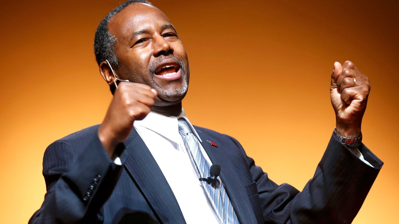 Ben Carson Was THIS Close to Be ing House Speaker