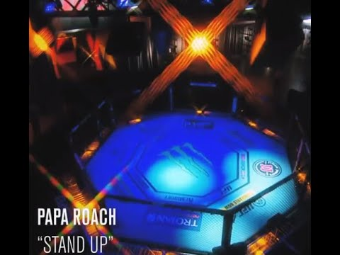 "Papa Roach tease new song ""Stand Up"" on UFC advertisement..!"