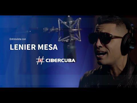 Entrevista de CiberCuba a Lenier Mesa
