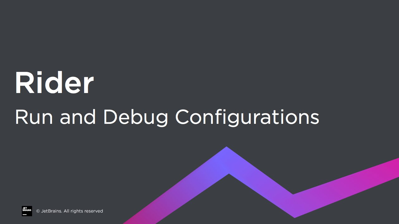 Run and Debug Configurations