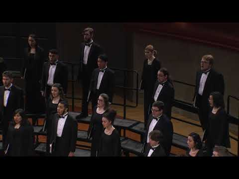 UNT A Cappella: Eric Whitacre - Go, Lovely Rose (1992)
