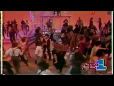 American Bandstand 1970s Dance Partners Carrie Johnstone and Sergio Lopez