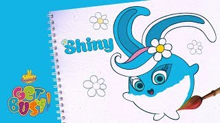 BRAND NEW - SUNNY BUNNIES   Drawing Shiny 3   Arts & Crafts   Cartoons for Kids