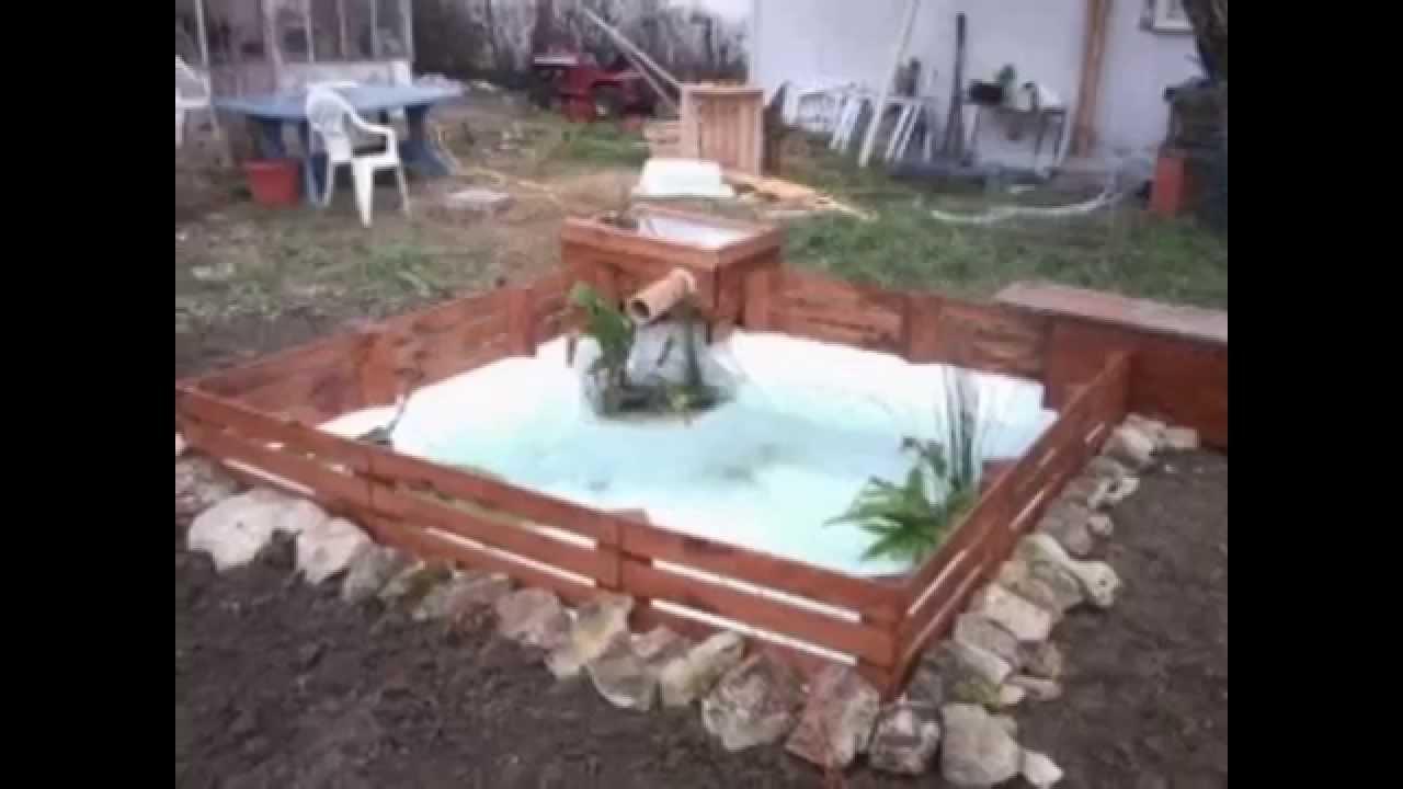 fabrication d un bassin pour 50 euros