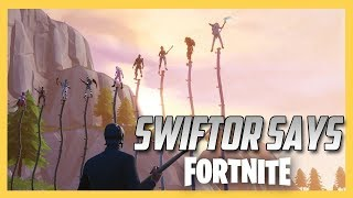 Swiftor Says in Fortnite Creative!