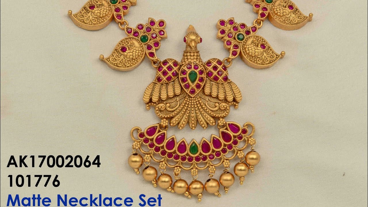 885211d537 1 gram gold jewelry with price - YouTube