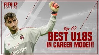 FIFA 17 Top Tips | Best U18 Players in Career Mode!!!