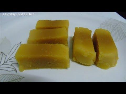 Download Youtube: Mysore Pak Recipe - Mysore Pak Sweet in Tamil - Diwali Sweets Recipe