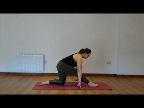 Yoga Osteo Hamstring Stretch