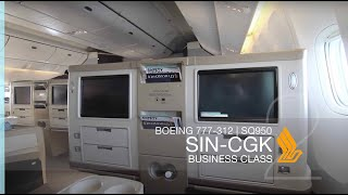 FRP S2E8 - Singapore Airlines SQ950 Business Class Experience | Singapore - Jakarta