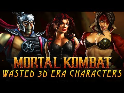 Top 5 Mortal Kombat Characters With WASTED Potential That MUST Return for MK11! thumbnail
