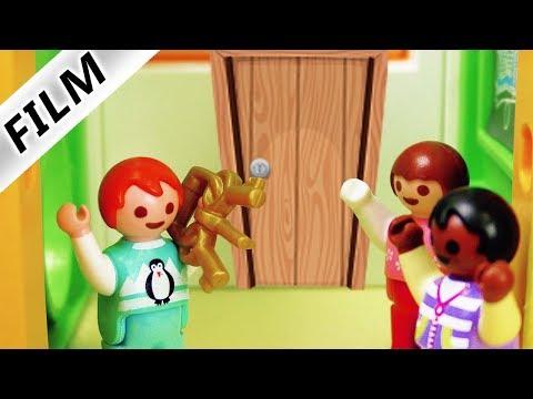 Playmobil Film deutsch | GEHEIMGANG IN KITA - Lüftet Emma verstecktes Geheimnis? Familie Vogel
