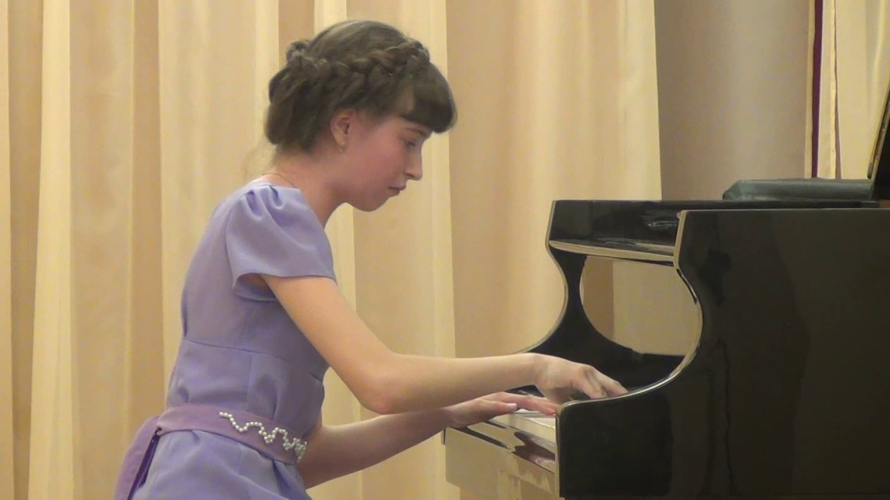 Маленький негритёнок фортепиано с оркестром