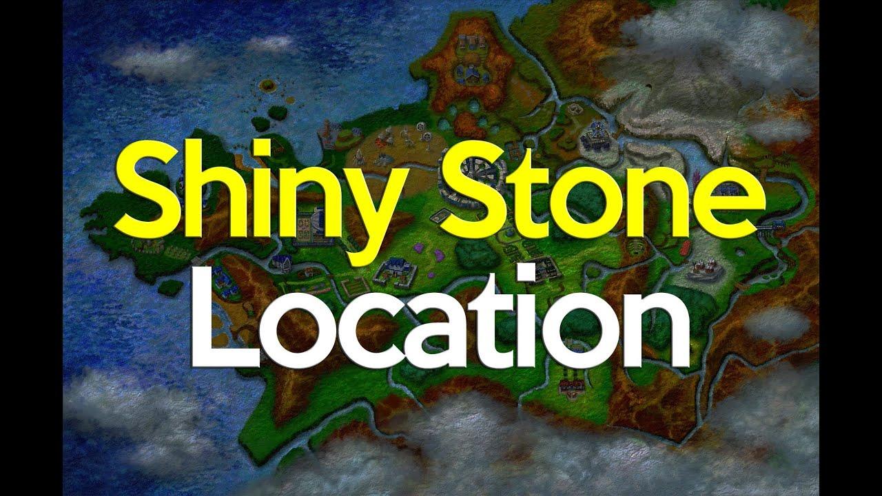 Pokemon X and Y Shiny Stone Location - YouTube