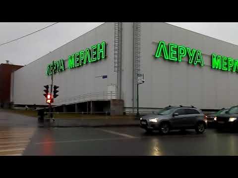 Москва 1577 Святоозёрская улица, ТРЦ Косино Парк зима день