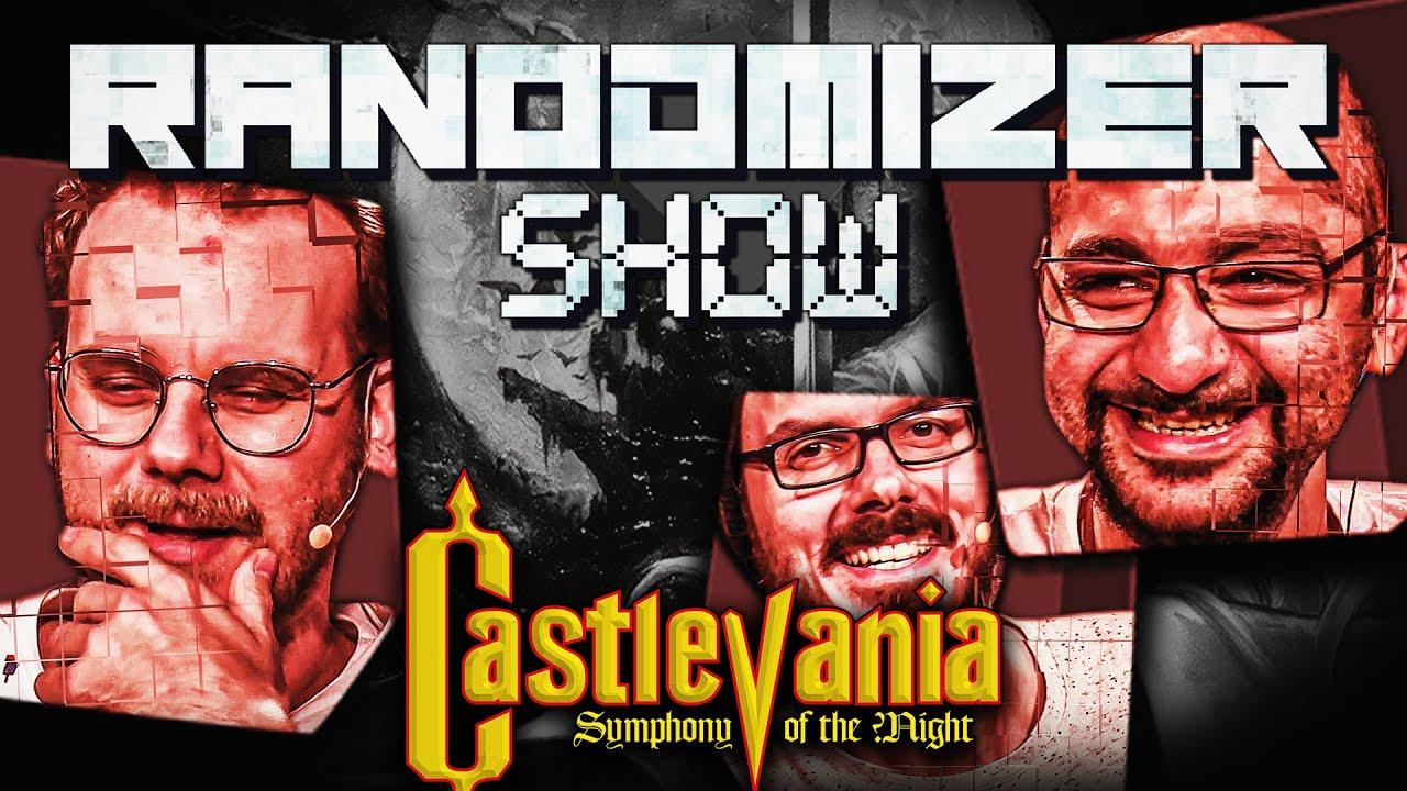 Castlevania: Symphony of the Night ~ Dracula-Schmakula | Die Randomizer Show mit Eddy, Sia & Gregor