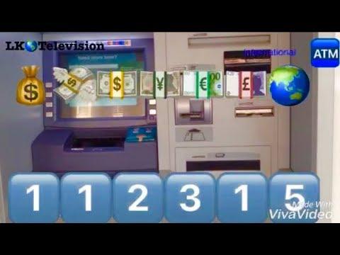 ATM master hacking code worldwide - YouTube