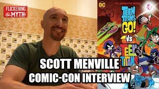 Scott Menville - TEEN TITANS GO! VS TEEN TITANS Comic-Con Interview - SDCC 2019