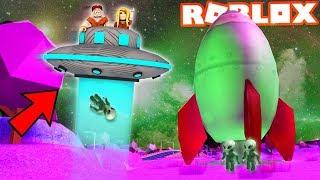 UKRADLIŚMY STATEK UFO W ROBLOX! (Roblox Roleplay Jailbreak) - Vito i Bella