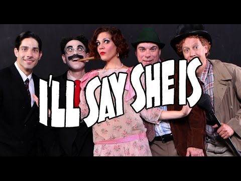 Moments from I'LL SAY SHE IS at FringeNYC 2014