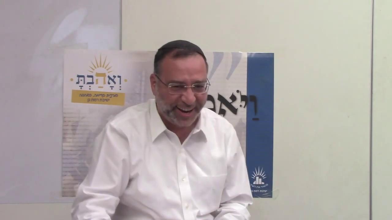 הלכות נדרים ושבועות - צורבא מרבנן - הרב בן ציון אלגאזי