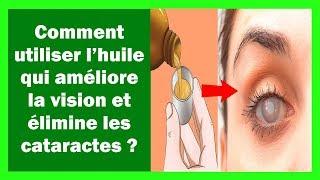 Comment utiliser l'huile qui améliore la vision et élimine les cataractes
