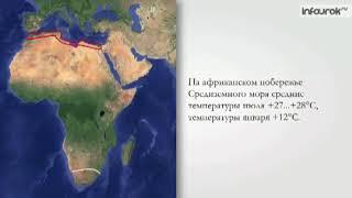 Климат Африки 7 класс -Субтропический