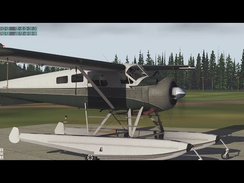 PART 1 #LIVE BUSH FLYING CANADIAN ADVENTURE - CALGARY TO CANADIAN ROCKIES - X-PLANE 11