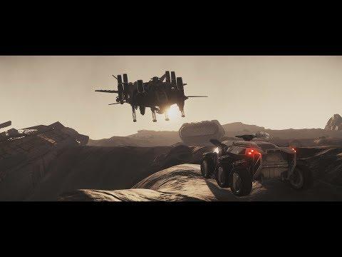 Star Citizen 3.0ai - Party at Javelin - Retaliator Raven Rover Freelancer.. - 4K Ultrawide