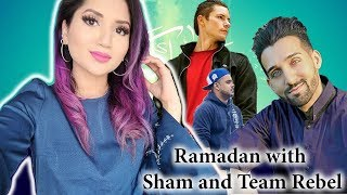 IFTAR with SHAM and TEAM REBEL | Ramadan Vlog 5 | Fictionally Flawless