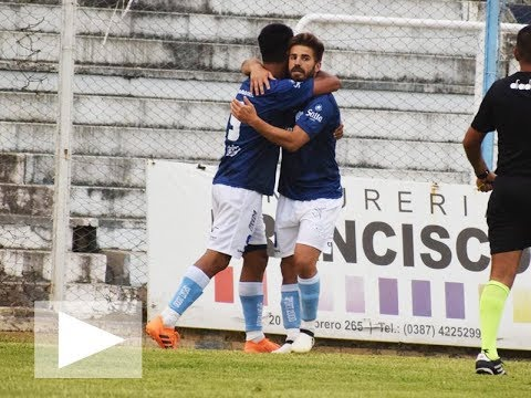 Federal A - Gimnasia y Tiro 1 vs Altos Hornos Zapla 0