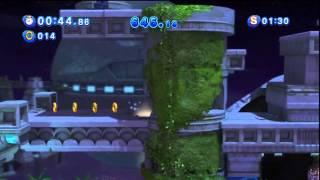 Sonic Generations - Sky Sanctuary Acte 1 - Défi 3 : Paradis célèste