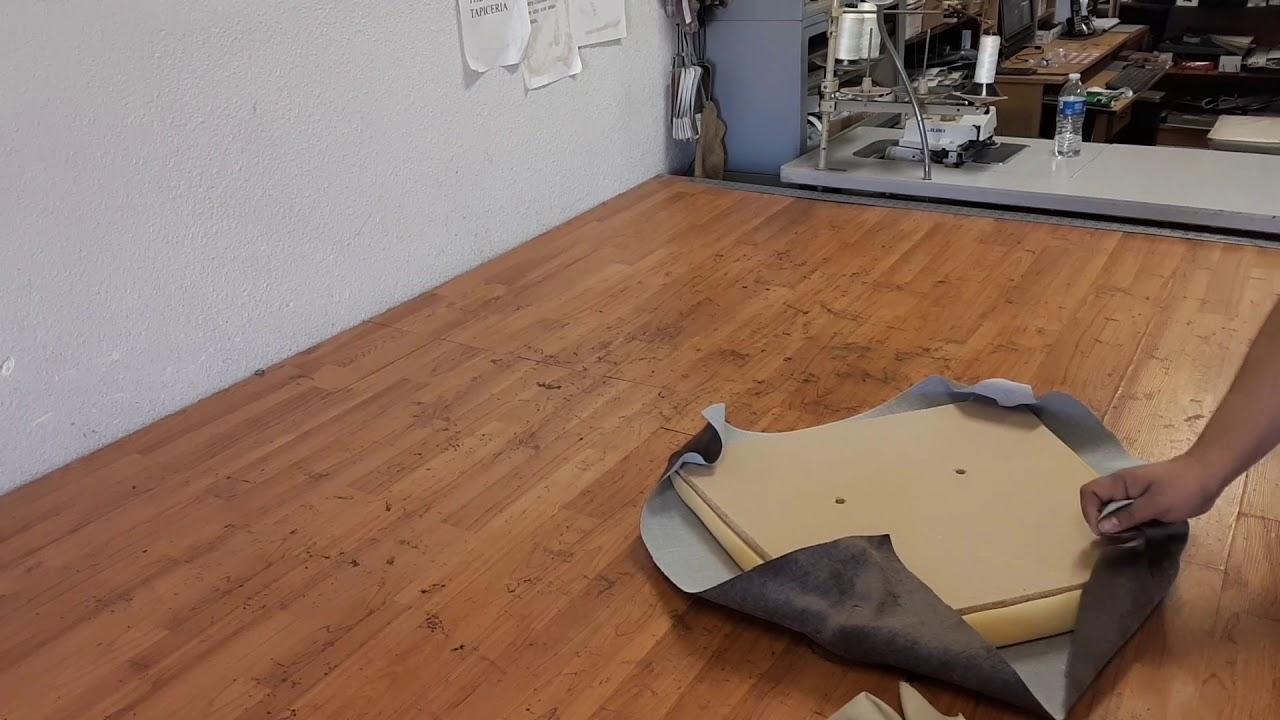 como tapizar sillas de comedor en 5 minutos - YouTube