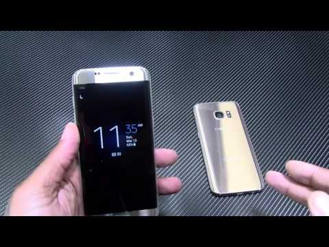 "Samsung Galaxy S7 Edge and S7 ""Real Review"""