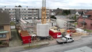 Zeitraffer Abriss und Neubau Gerätehaus Freiwillige Feuerwehr Castrop-Rauxel Löschzug Henrichenburg
