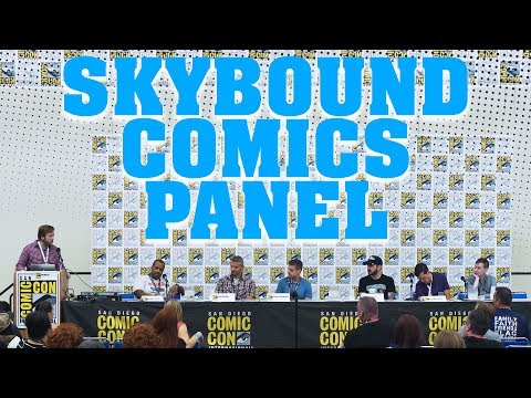 Skybound Comics Full Panel - SDCC 2017