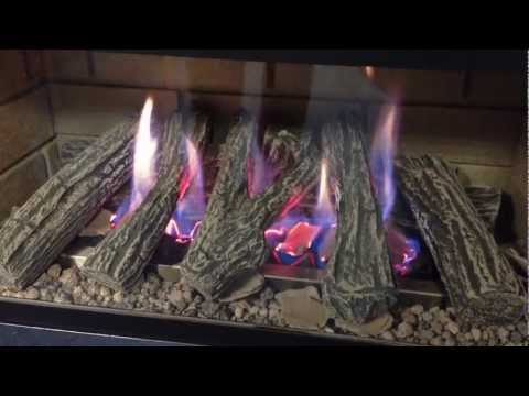 double sided wood fireplace canada