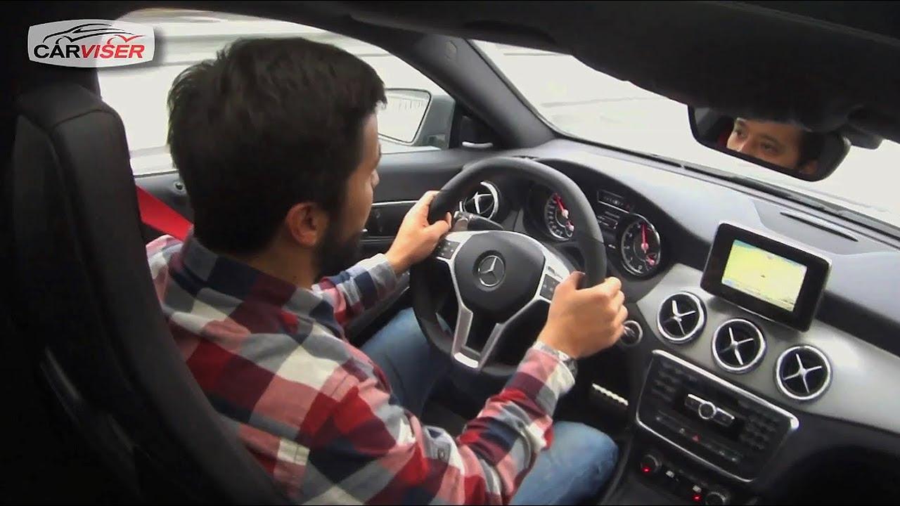 Mercedes CLA45 AMG Test Sürüşü - Review (English subtitled)