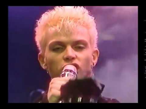 Billy Idol -  Flesh for fantasy 1984 ZDF performance