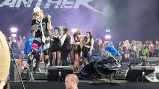 Steel Panther - Glory Hole following 17 Girls In A Row live @ Download 11/6/2017