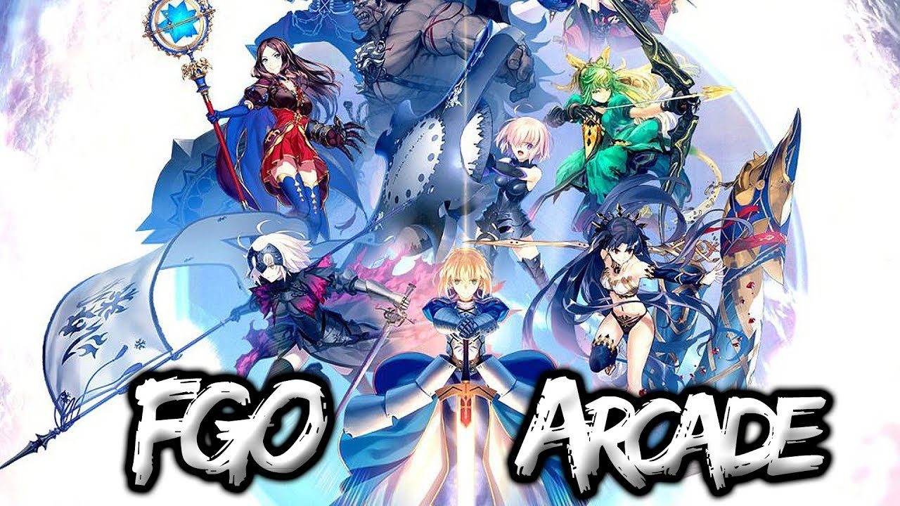 Fate/Grand Order Arcade - More Stunning than Ever! [Gameplay]