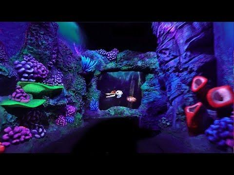 [4K - Extreme Low Light] Crush's Coaster - On Ride - Disneyland Paris