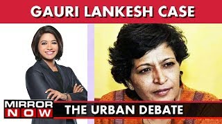 Gauri Lankesh : Another Free Thinker Silenced? I The Urban Debate With Faye D'Souza (Part 1)