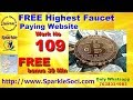 Free Highest faucet paying website || Work No 109