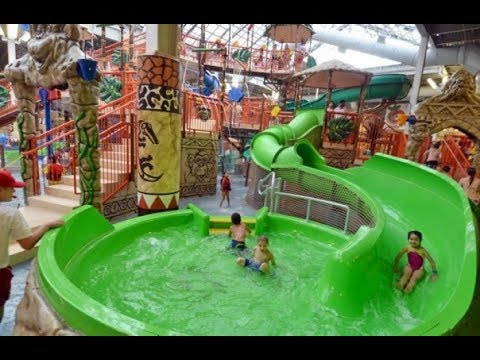 Top 5 Largest Indoor Water Parks In The World Review 2018 Best For Kids And Families