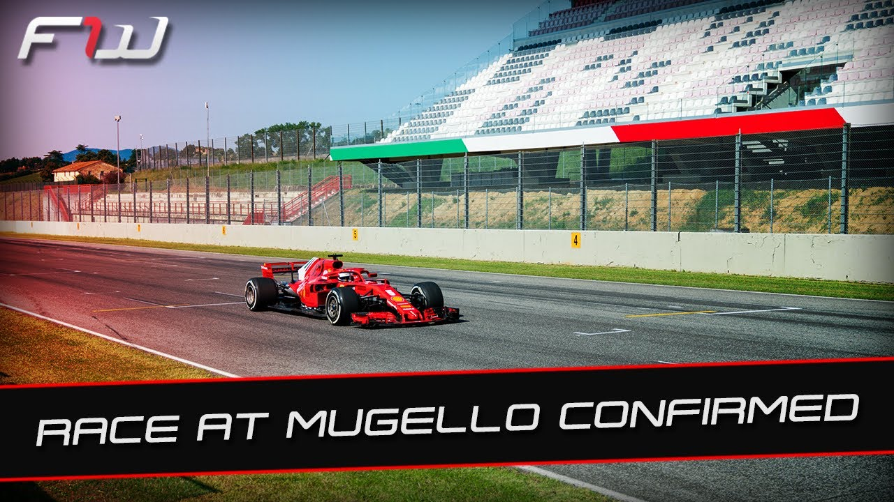 F1 News and Practice Round-Up: 2020 Races At Mugello and Sochi Confirmed