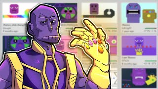JOGANDO no Mapas do THANOS no Bonk.io