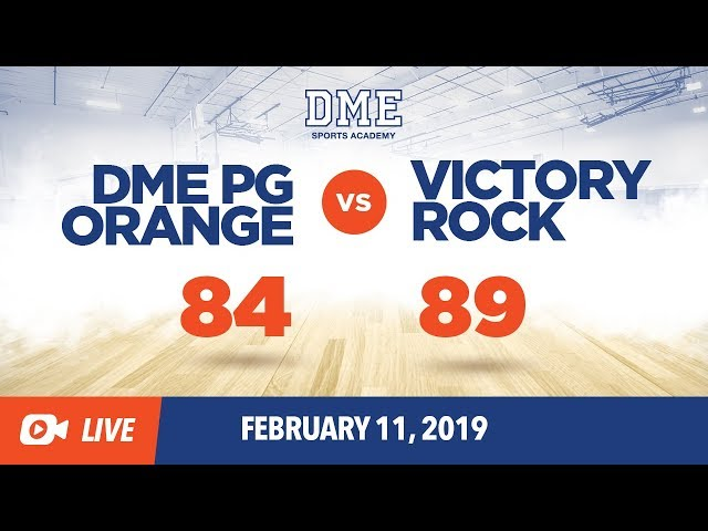 PG Orange vs. Victory Rock