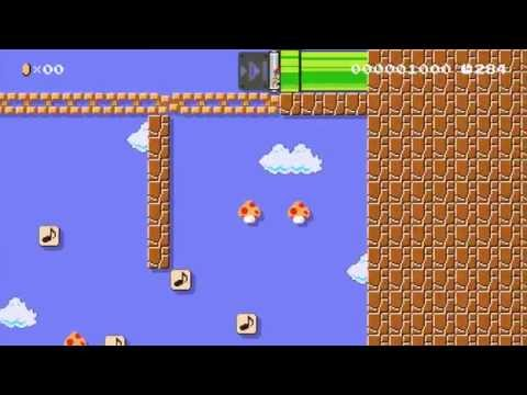 Bein' Friends Song from Mother/EarthBound Beginnings in Super Mario Maker