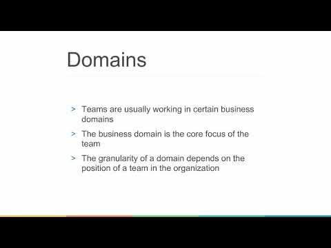 Webinar: Strategic Design: Domains, Subdomains, Bounded Contexts & Context Maps - Part 2/5